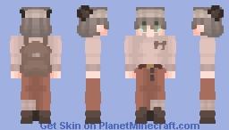 Adventure ~ Bear Minecraft Skin