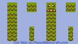 8 Bit Creeper Minecraft Skin