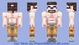 DIABOLICAL ADRENALINE GUITAR Minecraft Skin