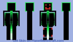 Neon robo Minecraft Skin
