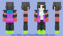 Experimenting with an alternate style Minecraft Skin