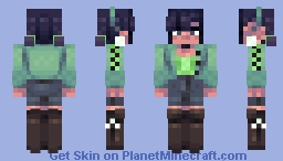 Green Screen - CE Minecraft Skin