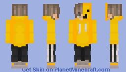 Nugcon human hood off Minecraft Skin
