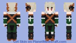 Explosion Boi (Bakugo) Minecraft Skin