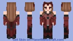 The Scarlet Witch   WandaVision [Wanda Maximoff] Minecraft Skin