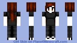 oh hey it's me (also gender reveal) Minecraft Skin