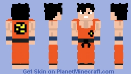goku vs piccolo (dragon ball) Minecraft Skin