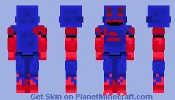 Game Over Toy Chica - Fnaf Ar - Arcade Mayhem Minecraft Skin