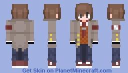 Ethan Winter's [Doki Dok Literature Club-OC] [Version 3 (Remastered)] Minecraft Skin