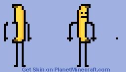Banana Man Minecraft Skin