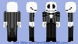 Jack Skellington : Nightmare Before Christmas Minecraft Skin