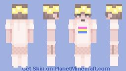 | Pansexual Pride | (Boy) Minecraft Skin