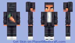 Carrot man - Commission Minecraft Skin