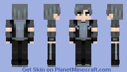 Mercury Black // RWBY Minecraft Skin