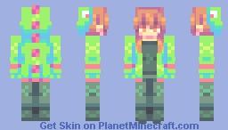 d i n o w ♡ sf Minecraft Skin