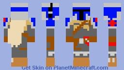 Boba Fett 1313 Minecraft Skin