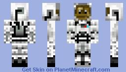Astronaut Monkey Minecraft Skin