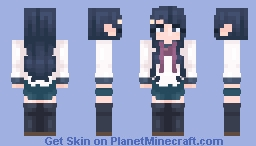 sayaka maizono Minecraft Skin