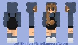 || cookie girl || edited skin || Minecraft Skin