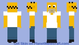 The Simpsons - Homer Minecraft Skin