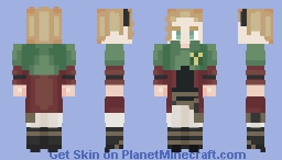 All Hail Dark Lord Sekke (Black Clover) Minecraft Skin