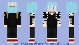 Tomura Shigaraki Minecraft Skin
