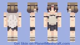 princess mononoke Minecraft Skin