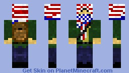 Freedom Fighters Minecraft Skin