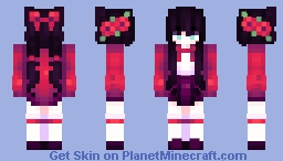 💔 吸血鬼 // dragonfruit Minecraft Skin