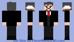 Mister Tony John Rydinger (Disney The Incredibles 3) 2020 Minecraft Skin