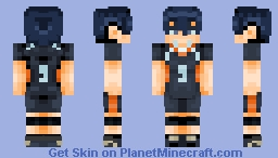 Tobio Kageyama || Haikyuu!! Minecraft Skin