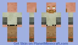Trafford | Fisherman Minecraft Skin