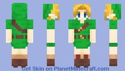 OoT Child Link | Remastered Minecraft Skin