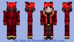 Alastor: Crimson Duke Minecraft Skin