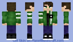 Ben 10 | Ben Tennyson | Ultimate Alien Force Minecraft Skin