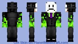 Atom From TheRaddo Smp Minecraft Skin