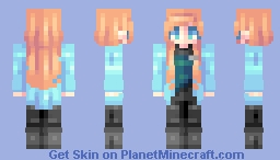 ♡ 𝓿𝒶𝓁𝓀𝓎𝓇𝒾𝑒𝓃 ♡ beverly crusher | (please read) Minecraft Skin