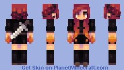 Inferno Minecraft Skin