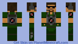 Commando Me Minecraft Skin