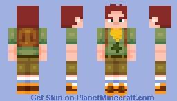 CAMP CAMP - DAVID Minecraft Skin