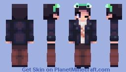 Bts Taehyung wearing frog headband Minecraft Skin
