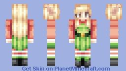 Santa's little helper. Dec 10th (I gave up lol) Minecraft Skin