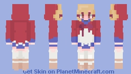 +~Walking Through Town - CE~+ Minecraft Skin