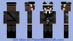 Egg Nazi uniform Minecraft Skin