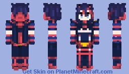 Ryuko-chan New version - [ Kill La Kill ] Minecraft Skin