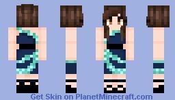 𝒜 𝐿𝑜𝓋𝑒𝓁𝓎 𝒩𝒾𝑔𝒽𝓉 Minecraft Skin
