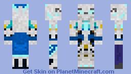 glow robot Minecraft Skin