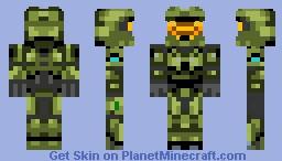 masterchief Minecraft Skin