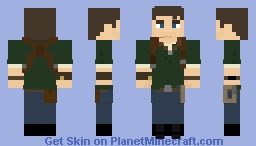 Nathan Drake Uncharted 2 Among Thieves Minecraft Skin