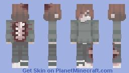 a little lost ✦ ~both eyes shown~ Minecraft Skin